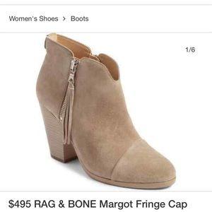 Rag & Bone Margot Suede Fringe booties